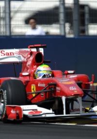 Felipe Massa larga em quinto
