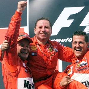 Atual presidente da FIA, Jean Todt foi chefe da Ferrari em polêmicas favorecendo Schumacher