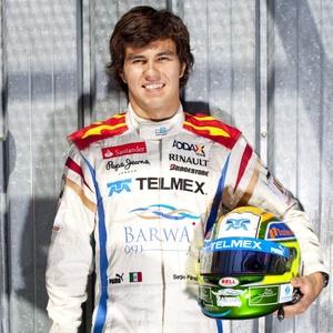 Mexicano Sergio Perez, de 20 anos, assinou contrato com a Sauber para a temporada 2011
