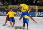 Brasil goleia Portugal e garante final da Copa do Mundo de futebol de areia
