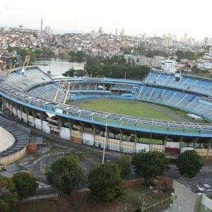 Fonte Nova é um dos poucos estádios com obras
