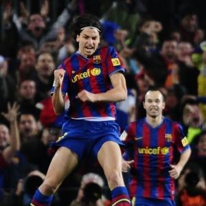Atacante sueco Ibrahimovic revela falta de diálogo com o treinador Pep Guardiola no Barcelona