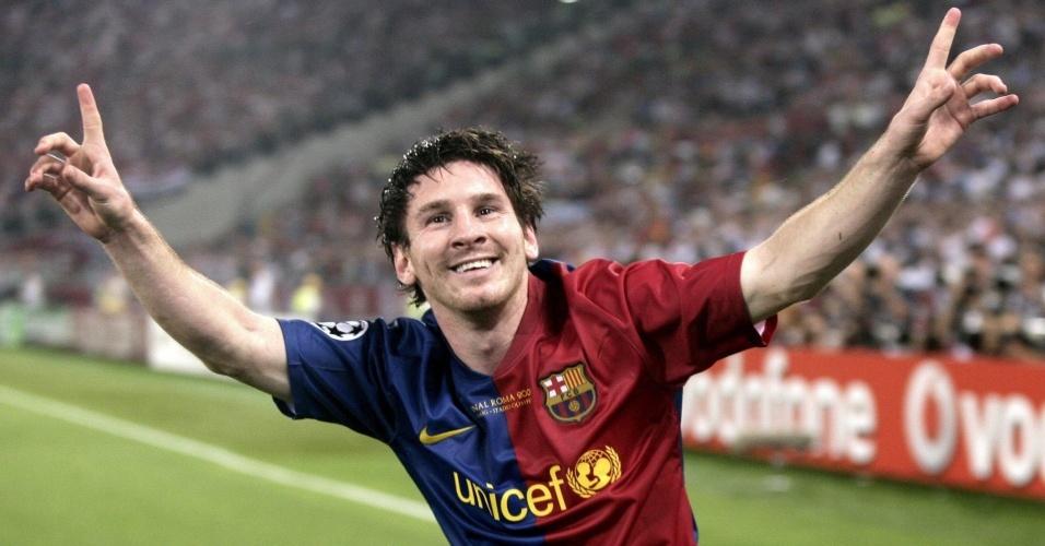 Messi vence o prêmio Bola de Ouro