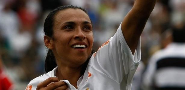 """Marta é considerada a """"cereja do bolo"""" do novo projeto santista para o Futebol Feminino"""
