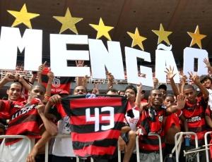 Torcida do Flamengo já pode comprar os ingressos para a partida contra o Duque de Caxias