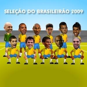 Veja a seleção do Brasileiro de 2009 escolhida pelos internautas do UOL