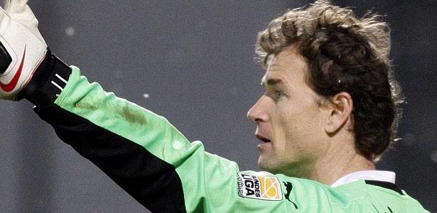 Jens Lehmann, goleiro do Stuttgart, durante jogo contra o Mainz 05 - Johannes Eisele/Reuters