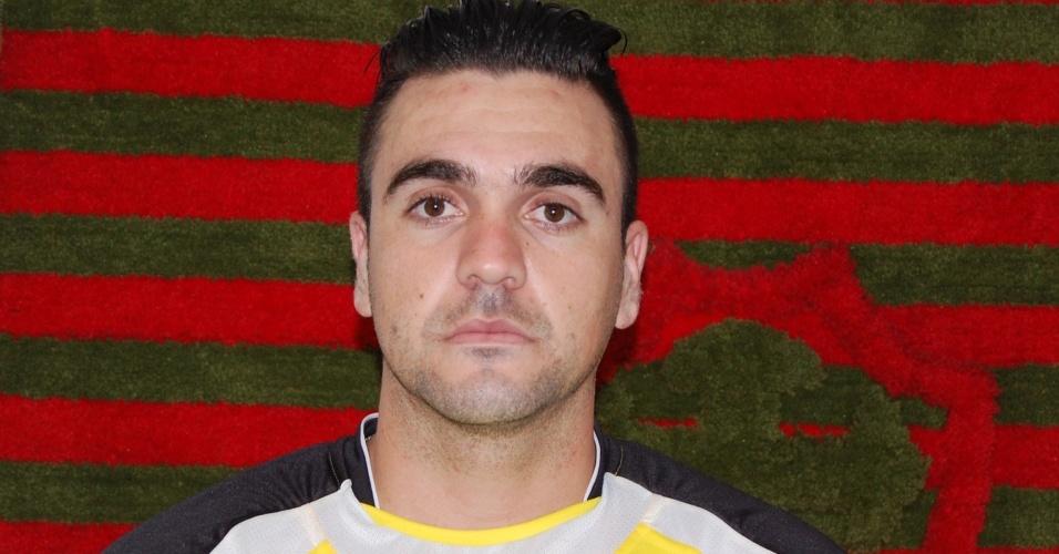 Andrey, novo goleiro da Portuguesa