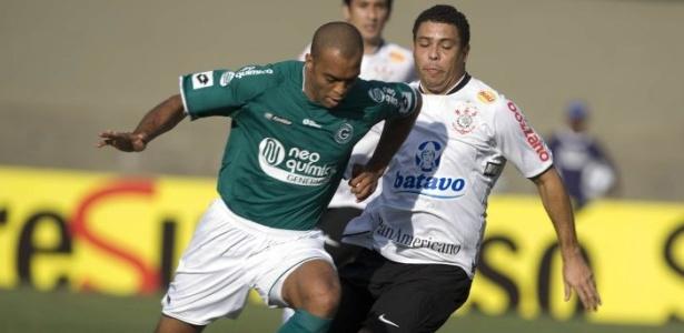 Leandro Euzébio, zagueiro do Goiás