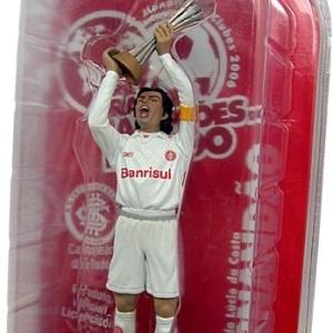 Miniatura de Fernandão é a primeira de uma série que homenageará heróis do título mundial de 2006