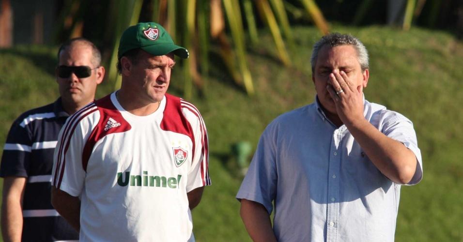 Branco, ex-coordenador de futebol do Fluminense