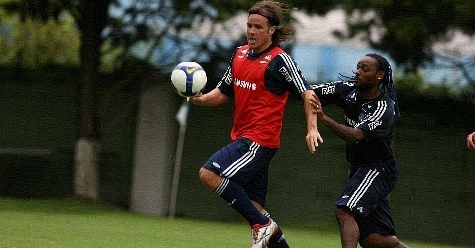 Marcão foi flagrado por doping por usar remédio para conter queda de cabelo. Ele levou gancho de quatro meses em 2007