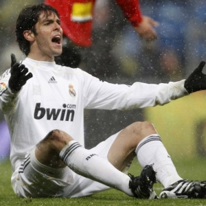 Kaká segue sem treinar ao lado dos companheiros e continua como dúvida para jogo contra Barcelona