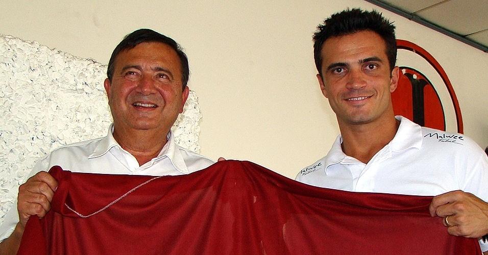 Como gestor, Falcão se associa ao Juventus, time catarinense