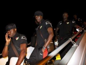Jogadores de Togo tinham esperança de participar da competição, mas a equipe acabou eliminada