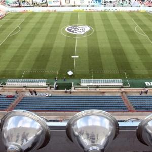 Arena Barueri, estádio que foi utilizado pelo Grêmio Barueri em 2009 e agora receberá Sport Club