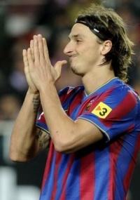 Ibra passou em branco e viu o Barcelona sofrer eliminação