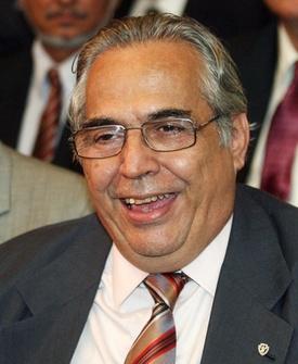 Eurico Miranda, durante o lançamento da loteria Timemania