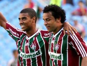 Ao lado de Fred, Alan deixou a sua marca na vitória por 3 a 1 sobre o Atlético-MG, no Mineirão