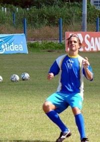 Sávio participou do treino de finalização nesta segunda-feira