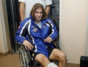 Lateral brasileiro Filipe Luís ficou marcado por uma grave lesão; agora, parte para o Atlético de Madri
