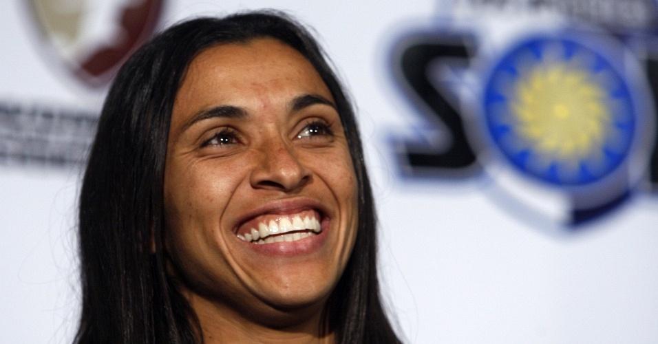 Marta é apresentada como reforço do Los Angeles Sol