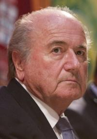 Joseph Blatter anunciou ajuda de US$ 3 milhões ao futebol do Haiti