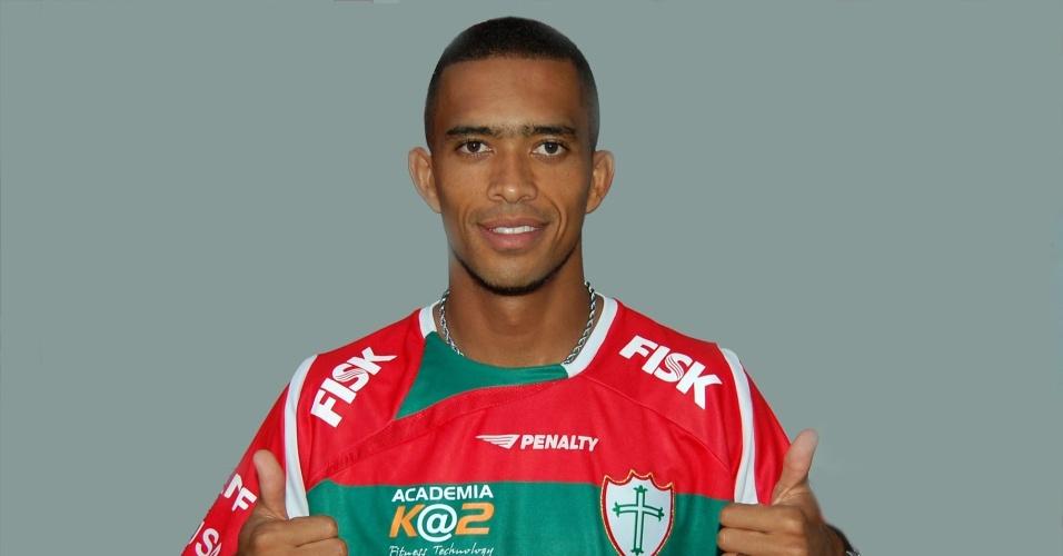Luis Ricardo, novo atacante da Portuguesa