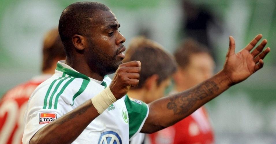 Grafite lamenta chance perdida pelo Wolfsburg