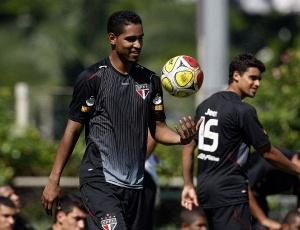 Cleber Santana não se firmou no São Paulo