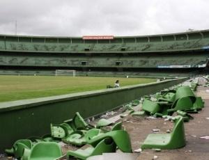 Após quebra-quebra, em dezembro, estádio Couto Pereira segue interditado até hoje