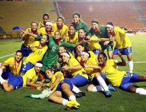 Brasil confirmou favoritismo e conquistou o título do Sul-Americano Sub-17 de futebol feminino