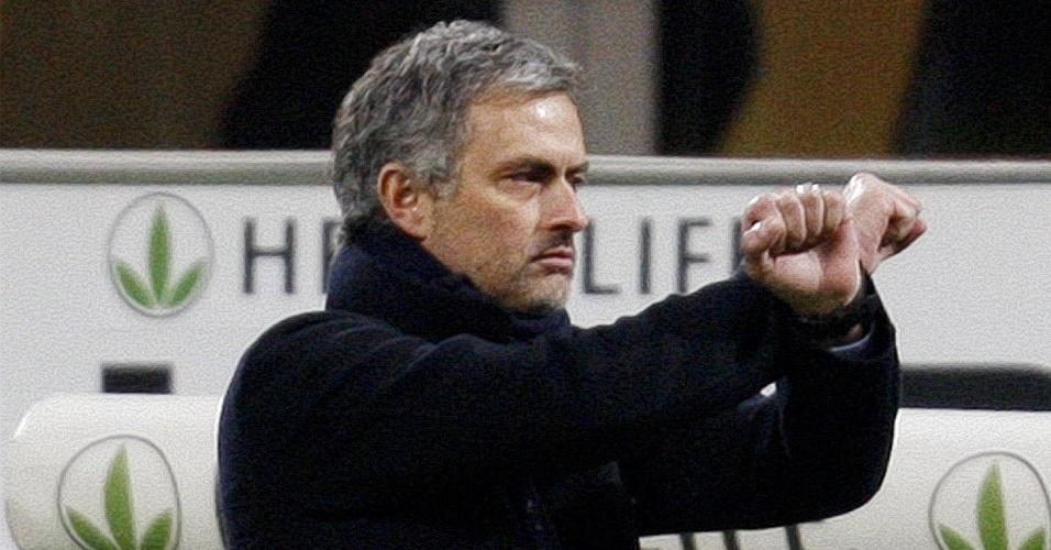 José Mourinho, treinador da Internazionale, criticou arbitragem de jogo contra Sampdoria