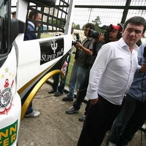 Andres Sanchez apresenta caminhão do Corinthians para a F-Truck