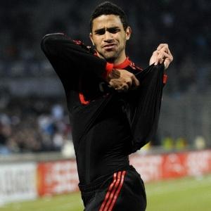 Alan Kardec, um dos brasileiros do elenco do Benfica, pode se sagrar campeão português