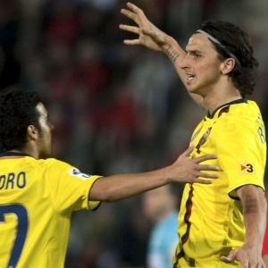 Destino do atacante Ibrahimovic não será o Milan