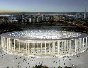 Projeto do estádio Mané Garrincha para a Copa do Mundo de 2014 é o mais caro entre as sedes
