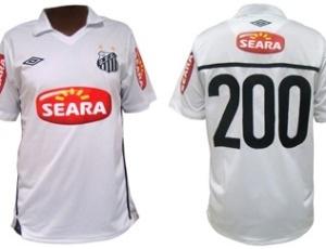 Camisa que Robinho vai utilizar contra o Guarani, nesta quarta, será leiloada no site Toda Oferta