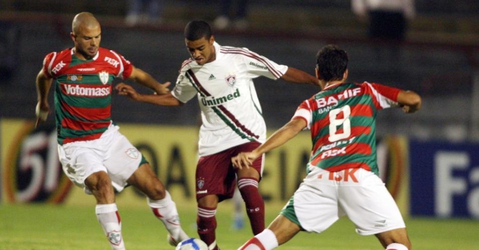 Portuguesa e Fluminense se enfrentam no Canindé, pela Copa do Brasil
