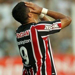 Companheiros de Washington no São Paulo não gostaram das declarações do atacante após o jogo