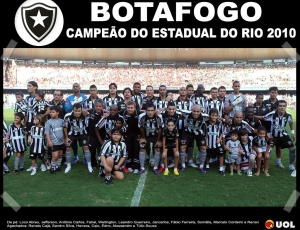 O time do Botafogo acabou com o estigma de 'vice' ao bater o Flamengo na decisão da Taça Rio