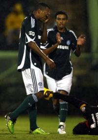 Robert, que foi dispensado pelo Palmeiras, pode reforçar Cruzeiro