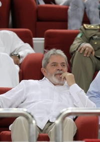 O presidente Lula acompanha a final da Copa do Emir, em Doha