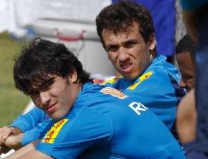 Thiago Ribeiro (ao lado de Pedro Ken) diz que amistosos nos EUA serão importantes para o time