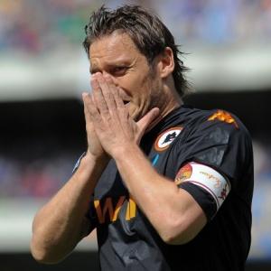 Totti lamenta título italiano perdido pela Roma