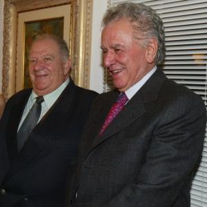 Mustafá e Juvenal se encontraram em evento e conversaram sobre o momento do Palmeiras