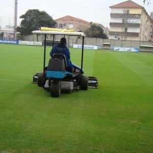 Gramado suplementar do Olímpico é reformado e Grêmio não tem campo para treinar atualmente