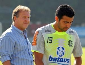 Zico celebrou acordo com Maldonado no Flamengo