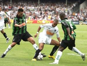 Atlético e América enfrentaram-se três vezes este ano, como no empate (f) na estreia do Mineiro