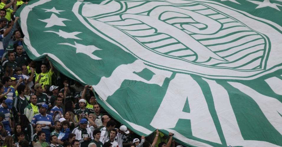 Torcida do Palmeiras se despede do Palestra Itália